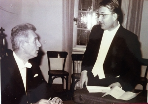 Mit Rudolf Kempe, 1965